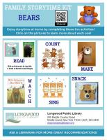 Bears Family Storytime Kit