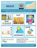 Beach Family Storytime Kit