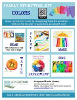 Colors Family Storytime Kit