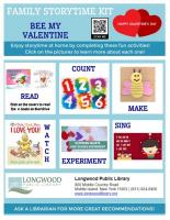 Family Storytime Kit: Bee My Valentine